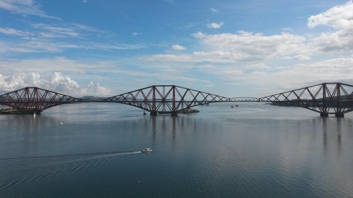 Gorebridge to The Forth Road Bridge (the long way)