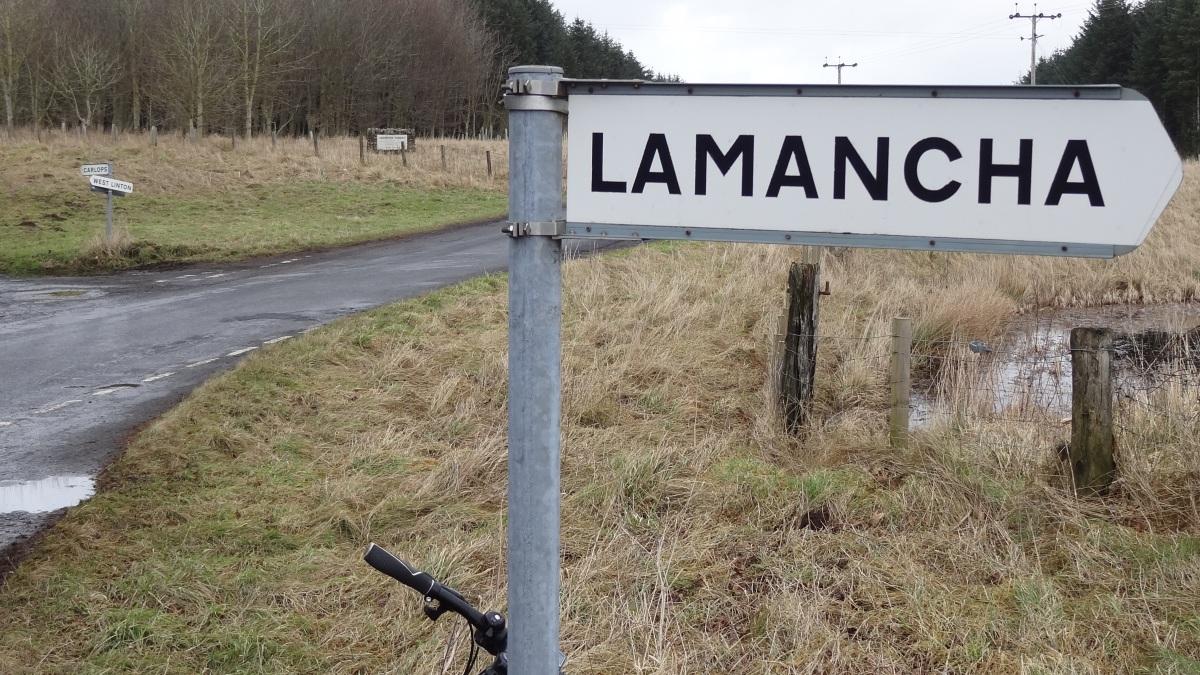 Gorebridge to Romannobridge (the longway)