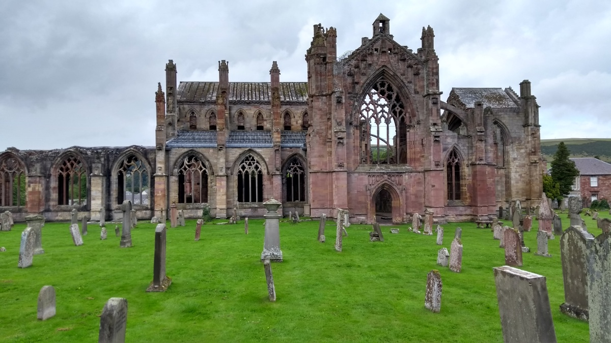 Grand Tour of the Scottish Borders (Volume 5): The 4 Abbeys