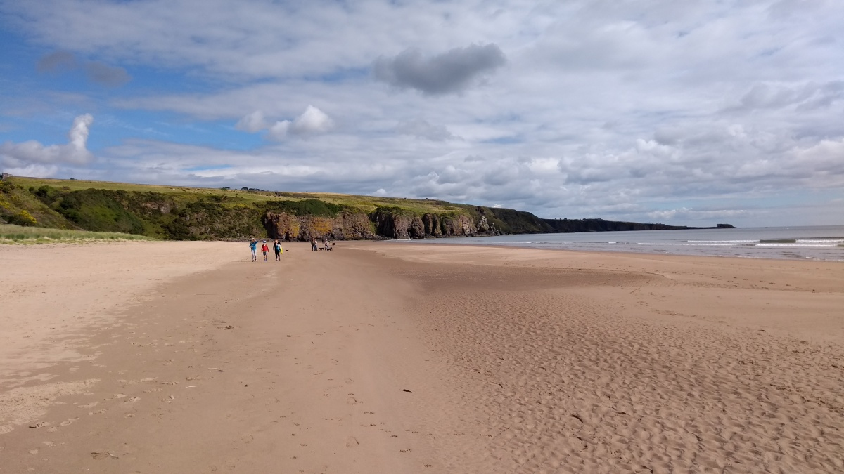 Redford to Lunan Bay