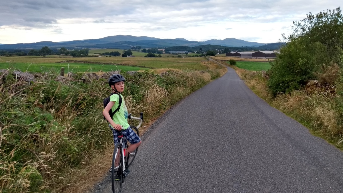 Tour de Galloway day 1: Newton Stewart to Wigtown Loop