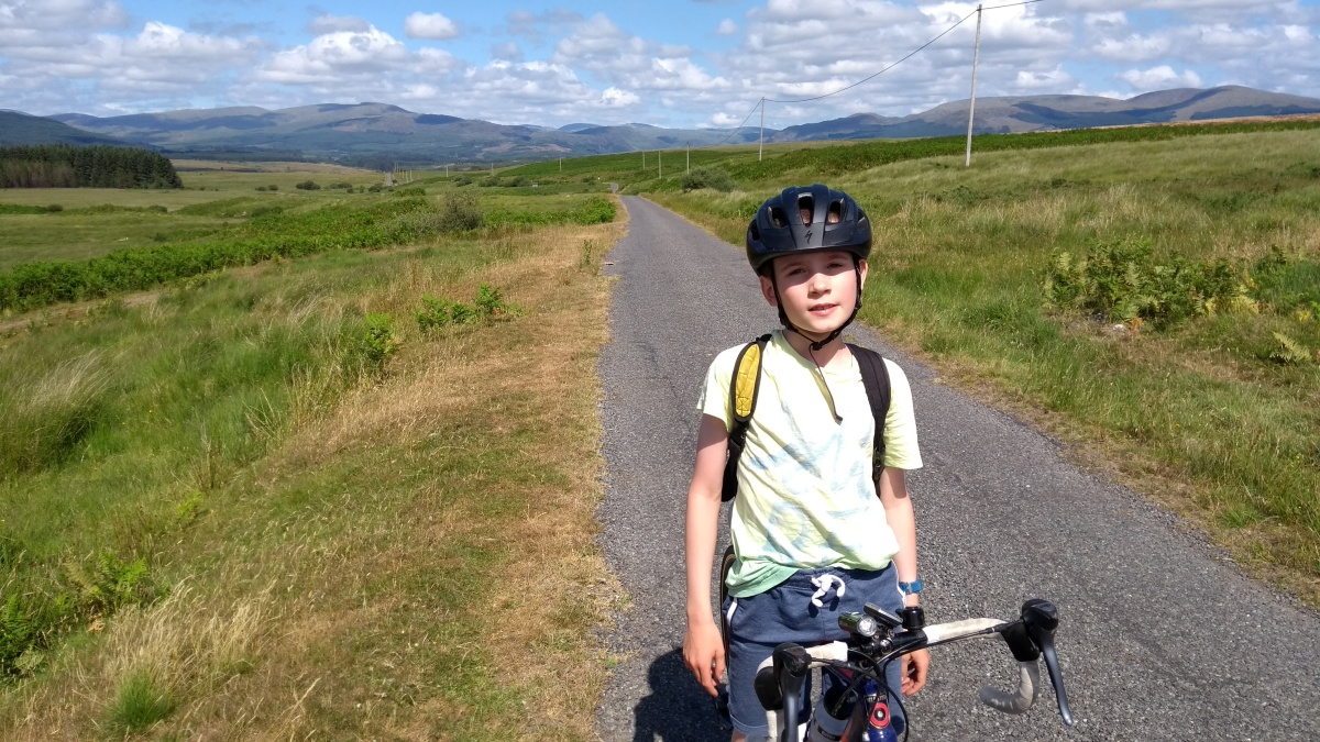 Tour de Galloway day 2 (mountain stage): Glen Trool Forest and South Ayrshire Alps